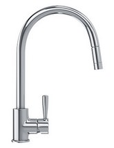 Franke Fuji Pull Out Nozzle Kitchen Sink Mixer Tap Chrome