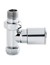 Hudson Reed Modern Straight Radiator Valves - RV001