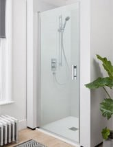 Simpsons Click Hinged Shower Door 800mm - NHDSC0800
