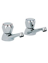 Beo Astra Deck Mounted Bath Taps