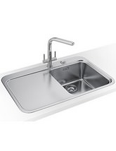 Franke Sinos Designer Pack SNX 211 1.0 Bowl Stainless Steel Sink And Tap