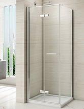 Merlyn 8 Series Frameless Hinged Bifold Shower Door 900mm