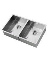 1810 Company Zenduo 340-340U 2.0 Bowl Kitchen Sink - ZD/3434/U/S/075