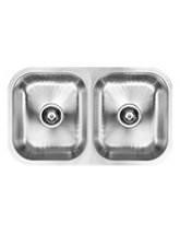 1810 Company Etroduo 340-340U 2.0 Bowl Kitchen Sink