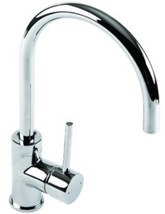 1810 Company Courbe Curved Spout Chrome Kitchen Sink Mixer Tap