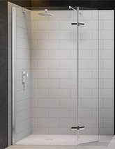 Merlyn 8 Series 1050mm Showerwall With Hinged Swivel Panel