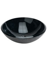 Beo Lavabo 420mm Black Countertop Basin