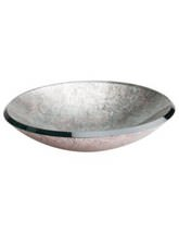 Beo Lavabo 460mm Countertop Basin Silver And Copper