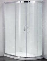 April Identiti2 900 x 760mm Double Door Offset Shower Quadrant