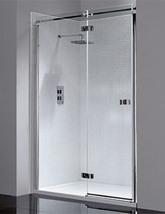 April Prestige Frameless 1200mm Hinged Shower Door