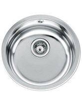 Teka ERC Stainless Steel 1.0 Bowl Round Inset Sink