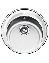 Teka Centroval 45 Stainless Steel 1.0 Bowl Round Inset Sink