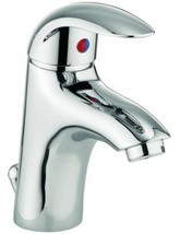 Lauren Alpha Monobloc Basin Mixer Tap With Pop-Up Waste