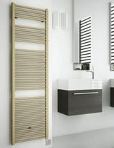 DQ Heating Nemo 500mm Wide Electric Towel Rail Platinum