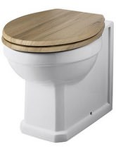 Hudson Reed Richmond Back-To-Wall WC Pan 520mm