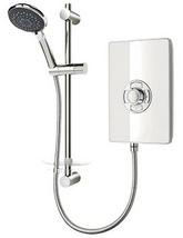 Triton Aspirante White Gloss Electric Shower 8.5 KW - ASP08GSWHT - Small Image