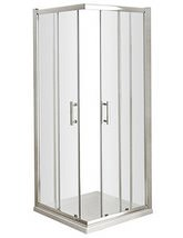 Lauren Pacific Corner Entry 760 x 760mm Shower Cubicle