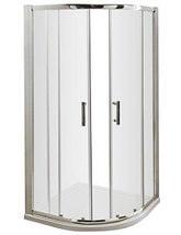 Nuie Premier Pacific 800 x 800mm Quadrant Shower Enclosure - Small Image