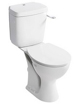 Armitage Shanks Sandringham 21 Raised Height Close Coupled WC Set - HO