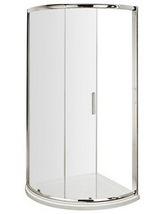Nuie Premier Pacific Single Entry 860 x 860mm Quadrant Shower Enclosure - Small Image