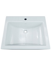 Aqva Elise Square Countertop Basin 525mm - BBD Elise 2
