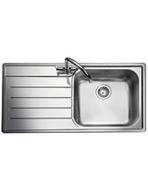 Rangemaster Oakland 985 x 508mm Kitchen Undermount Stainless Steel Sink