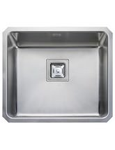Rangemaster Atlantic Quad 530 x 450mm Stainless Steel 1.0B Undermount Sink