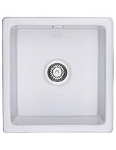 Rangemaster Rustique Kitchen Fire Clay Ceramic Sink - 450 x 475mm