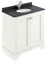 Bayswater Pointing White 800mm 2 Door Basin Cabinet