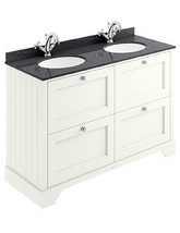 Bayswater 1200mm Pointing White 4 Drawer Basin Cabinet