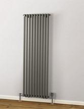 MHS Rads 2 Rails Battersea 1800mm High Single Panel Vertical Radiator