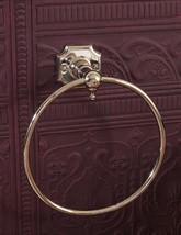 Silverdale Victorian Towel Ring Nickel