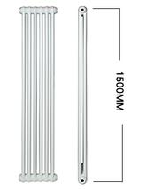 Apollo Roma Vertical 1500mm Height Steel 2 Column Radiator