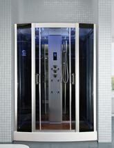 Insignia Rectangular 1500 x 820mm Steam Shower Mirrored
