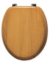 Roper Rhodes Malvern Solid Wood Toilet Seat Antique Pine