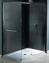 Aqualux Shine Walk In Shower Enclosure 1400 x 900mm - FEN0879AQU