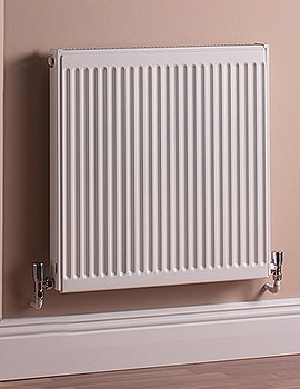 Single Panel Convector 600 x 400mm Compact Radiator - Q11406KD