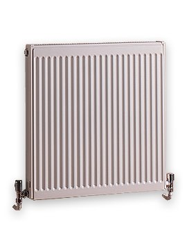 Quinn Double Panel Compact Radiator 600 x 400mm - Q22406KD