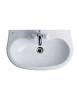 Image of Ideal Standard Space Projection Pedestal Wash Basin 580mm - E7152