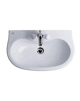 Space Projection Pedestal Wash Basin 580mm - E7152