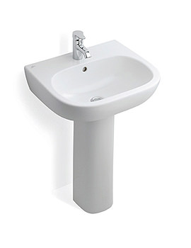 Ideal Standard Jasper Morrison 550mm Basin With Full Pedestal - E6187-E6211