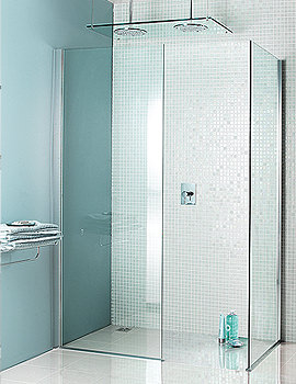 Simpsons Classic Mode Walk In Shower Enclosure 760 x 1950mm