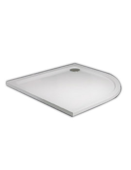 800 x 800mm Quadrant Slim Resin Shower Trays
