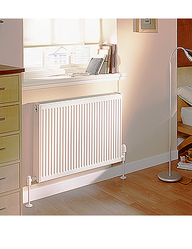Quinn Compact Single Panel Convector K11 Radiator 1400 x 500mm