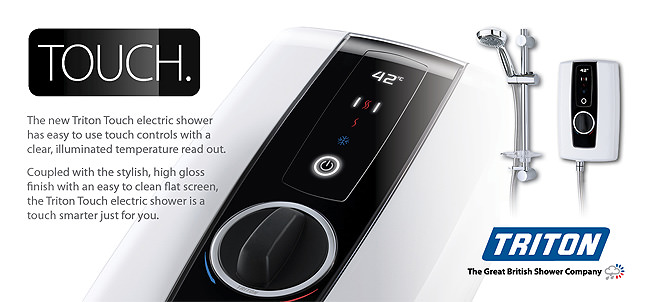 Triton Touch Electric Showers